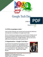 Programme Google Tech Day