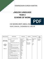 Ysow Year 3 English Sksk