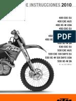 Manual Ktm 450
