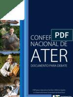 SINTERP MT - Documento base da Conferência Nacional de ATER