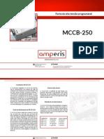 Teste de Interruptores Amperis - MCCB-250