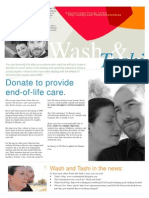 Wash and Tashi Fundraiser