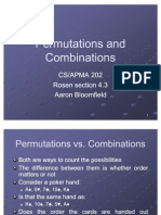 21 Permutations and Combinations