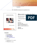 Hancart Petitet; 2008; Maternites en Inde du Sud