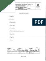 GFT-PR-570A-007 Conservacion y Custodia de las Historias Clinicas dentro del Archivo