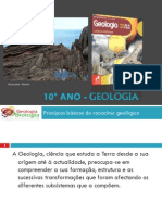 Apresentação 1 - Princípios básicos Do Raciocínio Geológico (Parte 1)