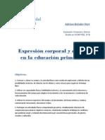 Expresion Corporal en PRIMARIA