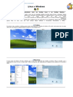 Comparacao Windows x Linus