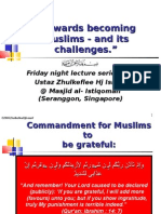 """Being Muslims & its challenges"" 1 Scribd]"