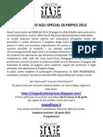 a5_promozione_stage Estivi Agli Special Olympics 2012