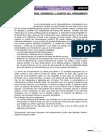 Tema 8, 9, 10. Unidad, Coherencia y Plenitud Del to Juridico