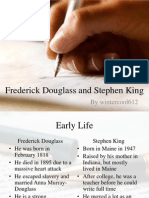 Frederick Douglass and Stephen King