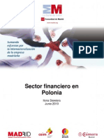 El sector financiero en Polonia