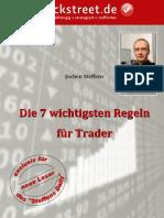7 Regeln Fuer Trader