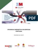 Eficiencia energética de edificios en Portugal