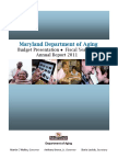 2011 Maryland Department of Aging Annual Report