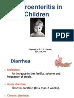 Gastroenteritis in Children