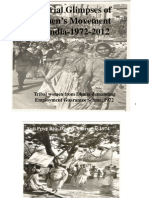Vibhuti Patel Pictorial Glimpses of Women's Movement in  India-1972-2012