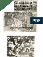 Vibhuti Patel Pictorial Glimpses of Women's Movement in  India-1972-2012