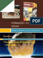 Planetas e Pequenos Corpos Dos Sistema Solar (Pequenos Corpos Do Sistema Solar - Ides)