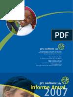 Informe Anual 2007 de la AMGS