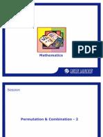 23. Permutation and Combination-2
