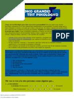 Test de Personal Id Ad Los Cinco Grandes