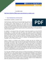 [CIV] Sentido Común y Pensamiento científico - Referencia Web