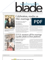 Washingtonblade.com - Volume 43, Issue 10 - March 9, 2012