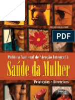 Politica Nacional Mulher Principios Diretrizes