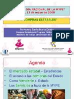 Compras Estatales -Perú 2008