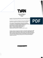 Tyan Trinity 510 Motherboard Manual