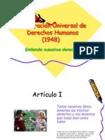 55503507 Declaracion Derechos Humanos Ppt