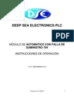 Manual de operacion  704 2520