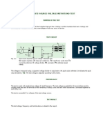 Separate-source Voltage Withstand Test