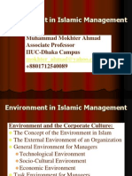 Lecture#1D_2 Environment in Islamic Management