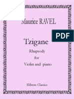Ravel - Tzigane (Violin and Piano)