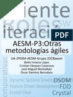 Práctica 3 AESM Metodologías Ágiles