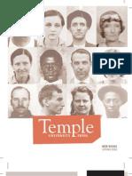 Temple University Press Spring Catalog