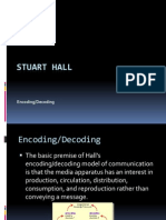 Stuart Hall, Encoding & Decoding
