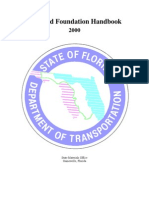 Soil and Foundation Handbook Florida DOT