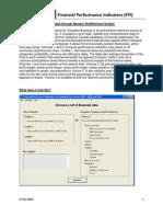 FPI-Financial Performance Indicators