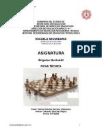 Analisís de Objeto Técnico del ajedrez