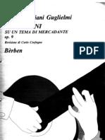 Emilia Giuliani Guglielmi-op.9-Variazioni Su Un Tema Mercadante