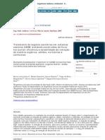 Engenharia Sanitaria e Ambiental - Domestic Waste Water Treatment in UASB
