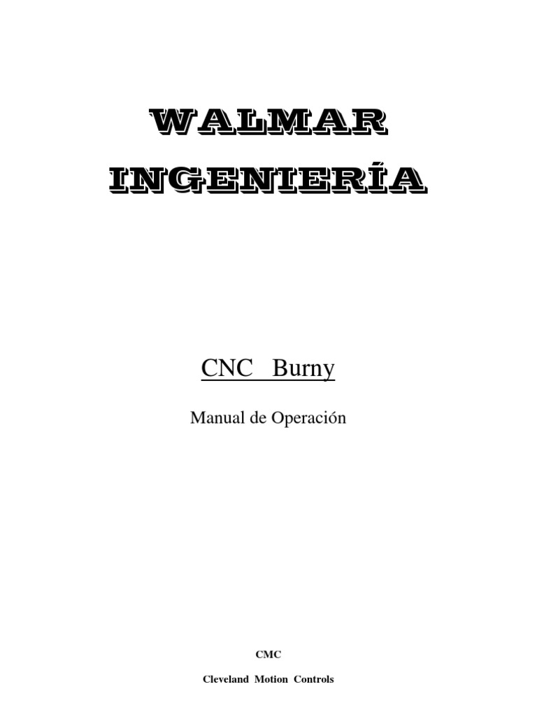 Manual General de Usuario Burny en Castellano By Walmar Ing