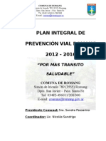 Plan Integral de Seguridad Vial Romang 2009-2014