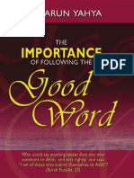 The Importance of Following the Good Word 1ed En