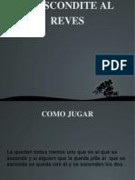 Álvaro Rodríguez 1ºG - Escondite al revés