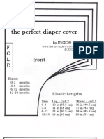 Diaper Cover Pattern by Made